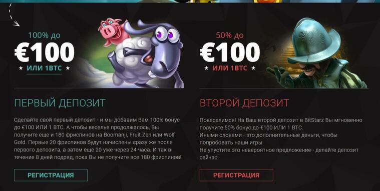 bitstarz бонусы