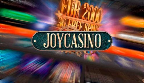 Джой казино что такое какие казино дают деньги